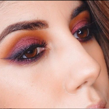 CHERRY SMOKEY EYES